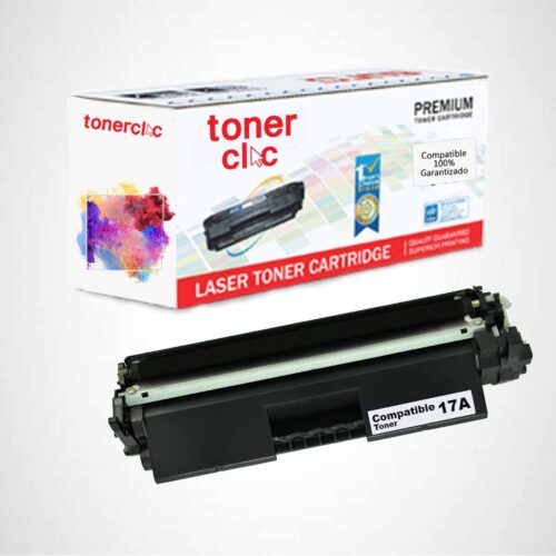 Toner alternativo hp 17a